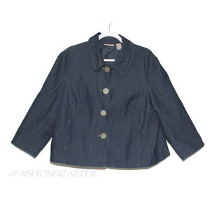 Kim Rogers Denim swing jacket Size 16